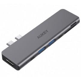 Aukey Thunderbolt 3 / USB-C 7-in-1 Hub