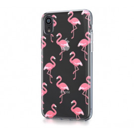BeHello Gel Case Flamingo iPhone XR