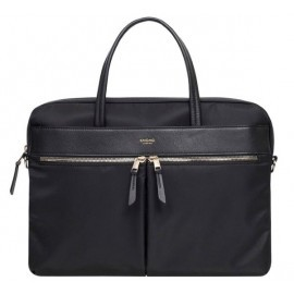 Knomo Hanover Slim Briefcase 14'' zwart