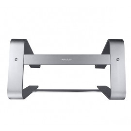 Macally Aluminium Macbook/Laptop Stand space grey