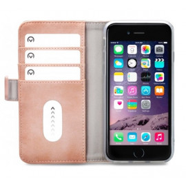 Mobilize Elite Gelly Wallet Book Case iPhone 6(S) / 7 / 8 / SE 2020 roze