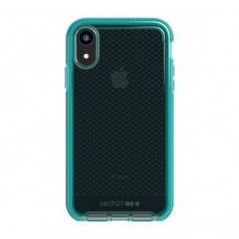 Tech21 Evo Check iPhone XR transparant / groen