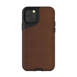 Mous Contour Leather iPhone 11 Pro Max bruin