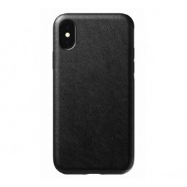 Nomad Rugged Case Leather iPhone X / XS zwart