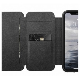 Nomad Rugged Case Tri-Folio iPhone XR bruin