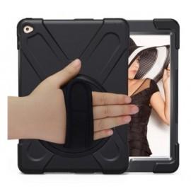 Casecentive Handstrap Hardcase met handvat iPad 2017/2018 zwart