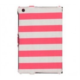 Griffin Journal Booklet Case iPad Mini 1/2/3 roze/wit