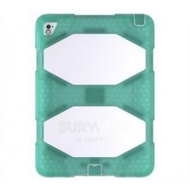 Griffin Survivor All-Terrain iPad Air 2/iPad Pro 9.7 groen/wit