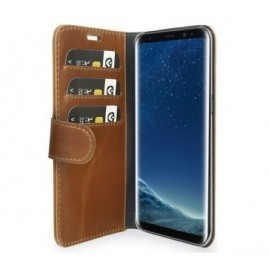 Valenta Booklet Classic Luxe Galaxy S9 bruin