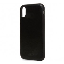 Knomo iPhone X / XS Snap On Case Zwart