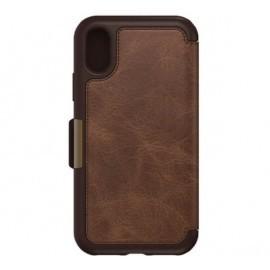 Otterbox Strada Folio iPhone X / XS Espresso Brown Limited Ed.