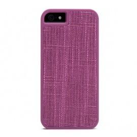 Booq Fibre Snapcase iPhone 5(S)/SE paars