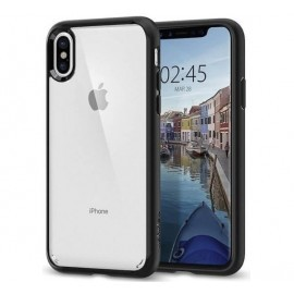 Spigen Ultra Hybrid Case iPhone X zwart