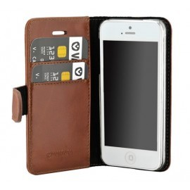 Valenta Booklet Classic Luxe iPhone 5 / 5S / SE Brown