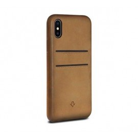 Twelve South Relaxed Leather pockets iPhone X / XS cognac