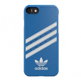 Adidas Moulded case iPhone 7 / 8 blauw