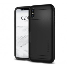 Spigen Slim Armor CS Case iPhone X / XS zwart