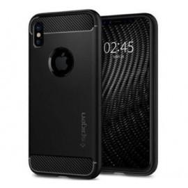 Spigen Case Rugged Armor iPhone X matt black