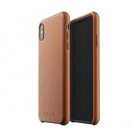 Mujjo Leather Case iPhone XS Max bruin
