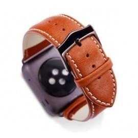 dbramante1928 Copenhagen Watch Strap 38mm Tan / Space grijs