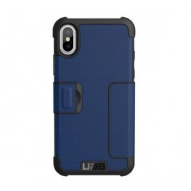 Urban Armor Gear Metropolis case iPhone X blauw