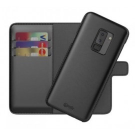 BeHello 2-in-1 Wallet Case Galaxy S9 Plus zwart
