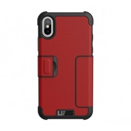 Urban Armor Gear Metropolis case iPhone X Rood