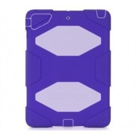 Griffin Survivor All-Terrain hardcase iPad Air 1 paars/lila