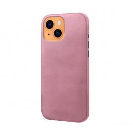 Casecentive Leren Back case iPhone 13 rosé goud