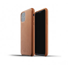 Mujjo Leather Case iPhone 11 bruin