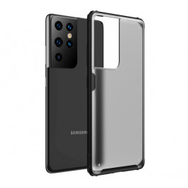 Casecentive Shockproof case Samsung Galaxy S21 Ultra matte black