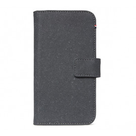 Decoded Leren Wallet Case iPhone 11 Pro antraciet