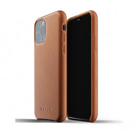 Mujjo Leather Case iPhone 11 Pro bruin
