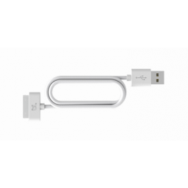 Bluelounge Dockconnector-naar-USB-kabel (0,20 m)