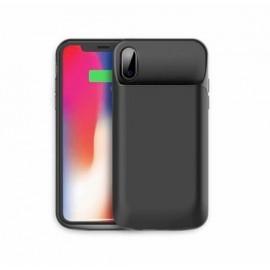 Casecentive Rock Pack batterij hoesje iPhone X / XS zwart
