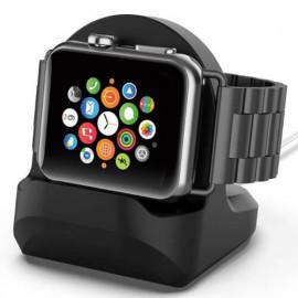 Casecentive Charging Dock Apple Watch Stand 1 / 2 / 3 / 4 zwart