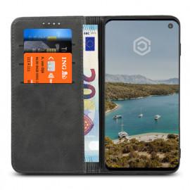 Casecentive Leren Wallet case Samsung Galaxy S10 zwart