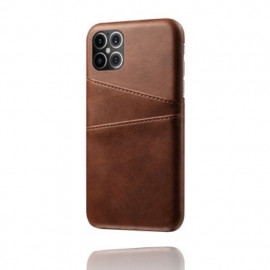 Casecentive Leren Wallet back case iPhone 12 Pro Max Brown