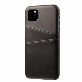 Casecentive Leren Wallet back case iPhone 11 Pro Max zwart