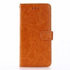Casecentive Leren Wallet case iPhone 7/8 bruin