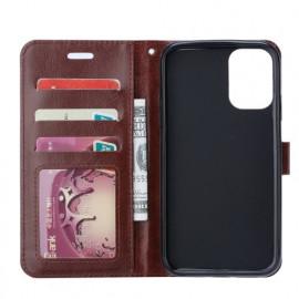 Casecentive Magnetische PU Leren Wallet case Galaxy S20 Ultra bruin