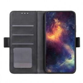 Casecentive Magnetische Leren Wallet case iPhone 12 Max / Pro zwart