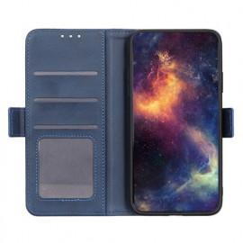 Casecentive Magnetische Leren Wallet case iPhone 12 Max / Pro blauw