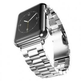 Casecentive Stainless Steel Watch Strap Apple Watch 38 / 40 mm zilver