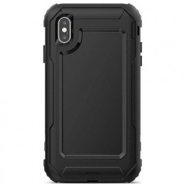 Casecentive Ultimate Hardcase iPhone XS Max zwart