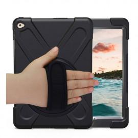Casecentive Handstrap Hardcase met handvat iPad 2017 / 2018 zwart