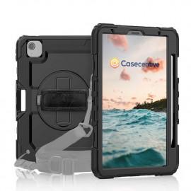 Casecentive Handstrap Pro Hardcase met handvat iPad Air 10.9 2020 zwart