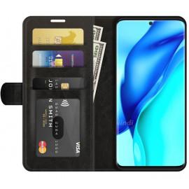 Casecentive Magnetische Leren Wallet case Huawei P50 Pro zwart
