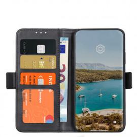 Casecentive Magnetische Leren Wallet case iPhone 12 Mini zwart