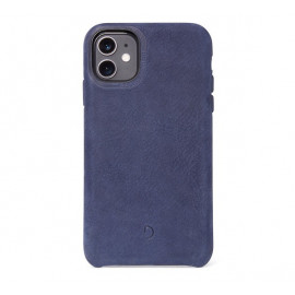 Decoded Bio Leather case iPhone 11 blauw